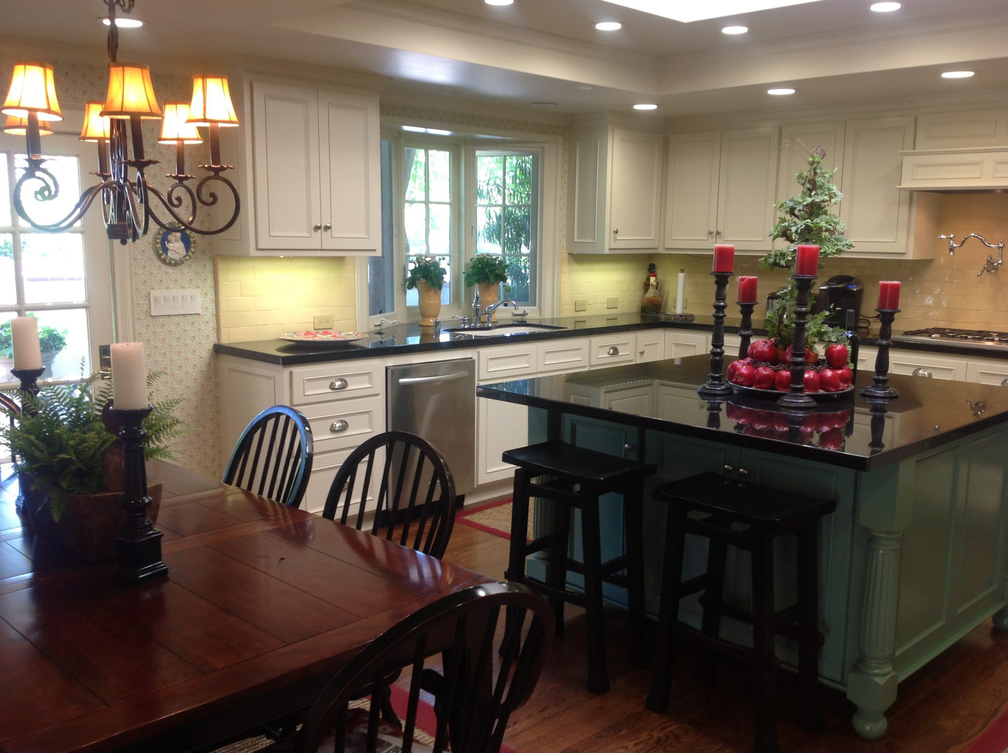 Kitchen Dining Area and Family Room Remodel • Jim LeVeque Remodeling