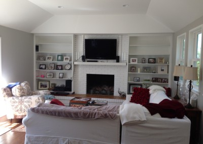 Completed Remodeled Family Room