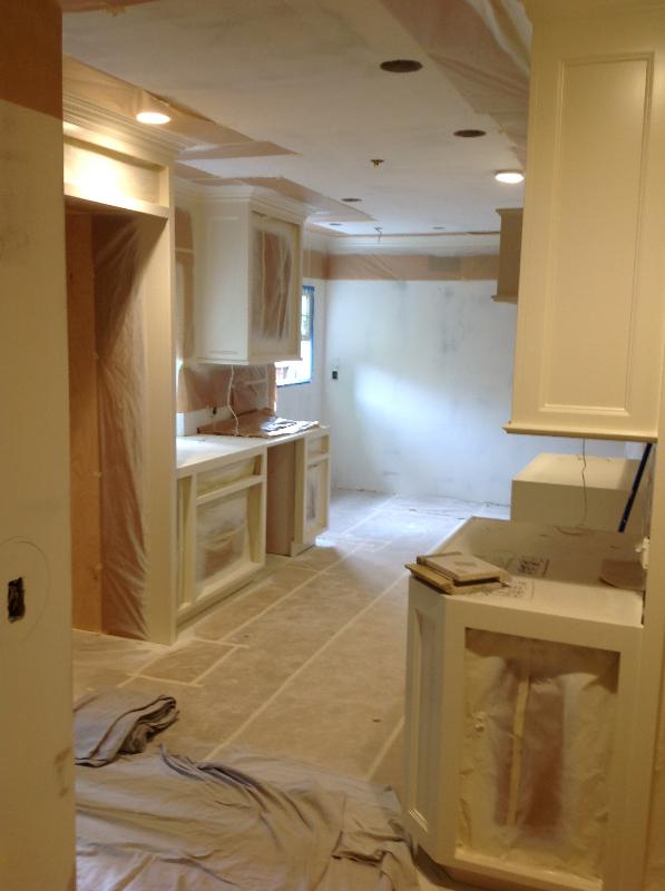 Kitchen Renovation In Progress results • jim leveque remodeling