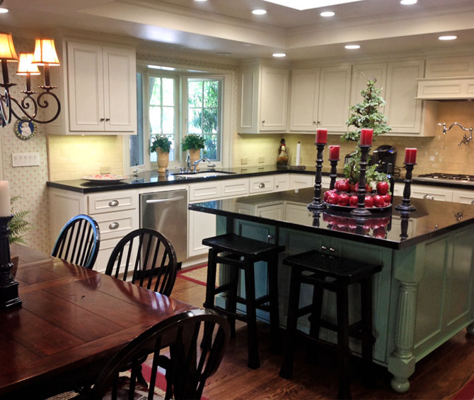 Remodeling services - Kitchen spaces