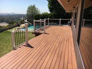 New Exterior Deck