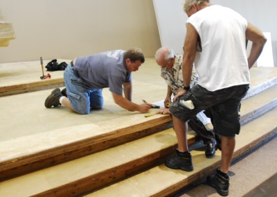 Remodeling St. Rita Church