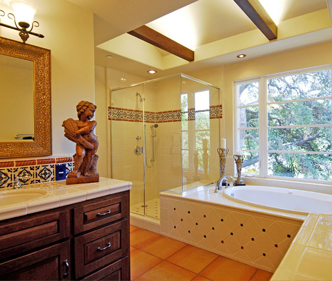 Remodeling services - Relaxing bathroom