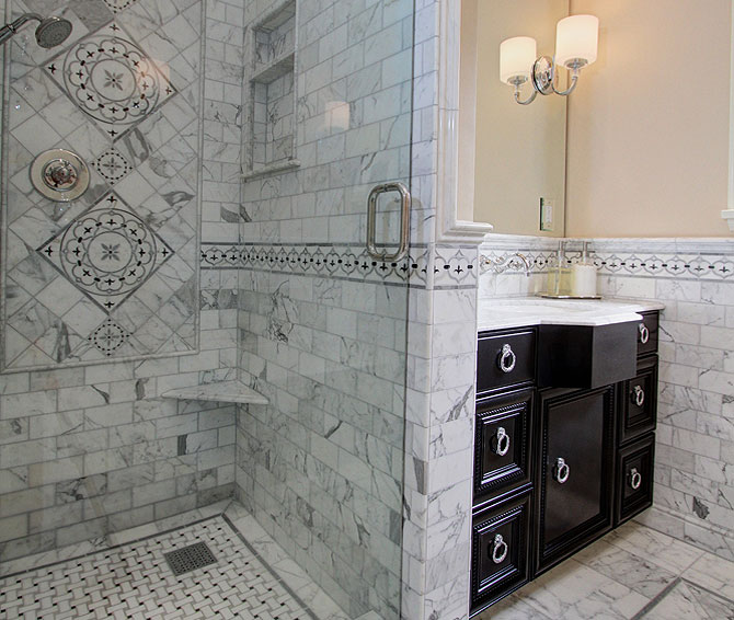 Remodeling services - Bathroom spaces